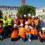 Des élèves de 6ème visitent le chantier !